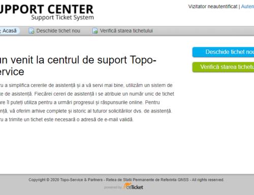 Centrul de suport Topo-Service